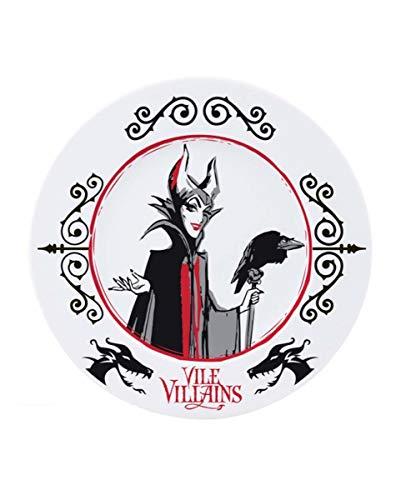 Horror-Shop Juego De Platos De Los Villanos De Disney
