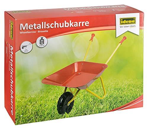 Idena 7131707 - Carretilla de metal [importado de Alemania]
