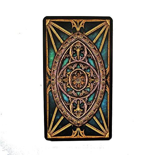 Illuminati Tarot -The Light Within por Erik C Dunne, Baraja de Tarot de 78 Cartas con Instrucciones Multilingues