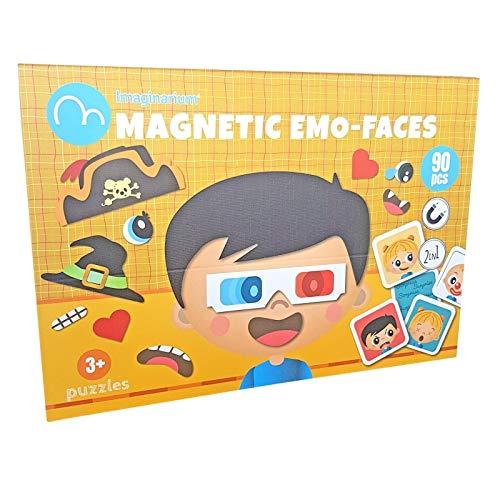 Imaginarium Magnetic EMO-Faces Juego magnético de Caras y emociones