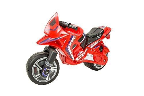 INJUSA - Moto correpasillos Hawk Color Rojo para Niños de más de 3 años, (193/000)