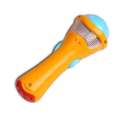 Itian® Juguetes de Niños - Micrófono de Grabación, Transform Acoustic, Canciones e Iluminación