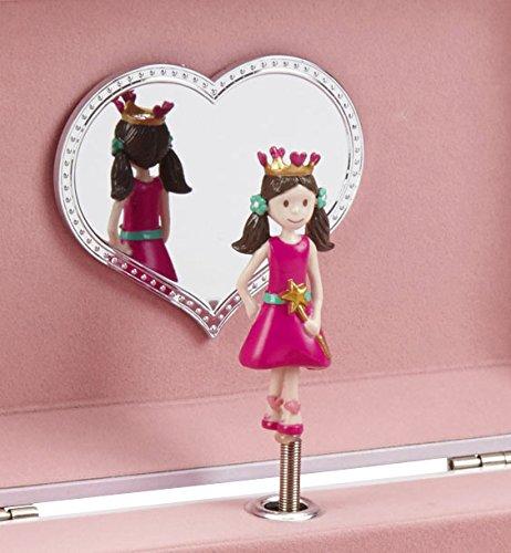 Jewelkeeper - Joyero con Música, con Unicornio y Princesa Mágicos, Equipado de 2 Cajones Extraíbles - Melodía de la Danza del Hada de Azúcar