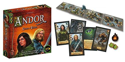"""Juego de 2 juegos: Andor Parte 3 """"Le Dernier Esperoir + Andor Chada y Thorn + 1 Yoyo Blumie."""