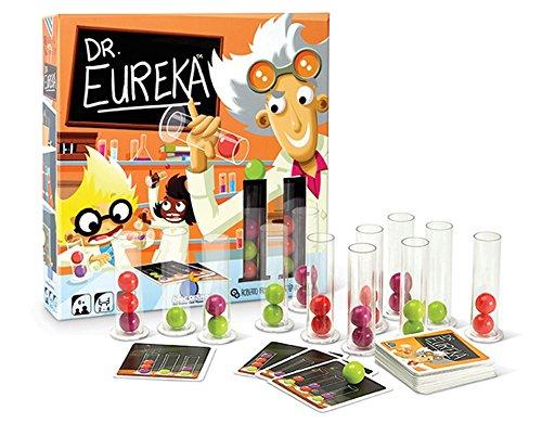 Juego de 2 juegos azul naranja: Dr Eureka + Rings Up + 1 Yoyo