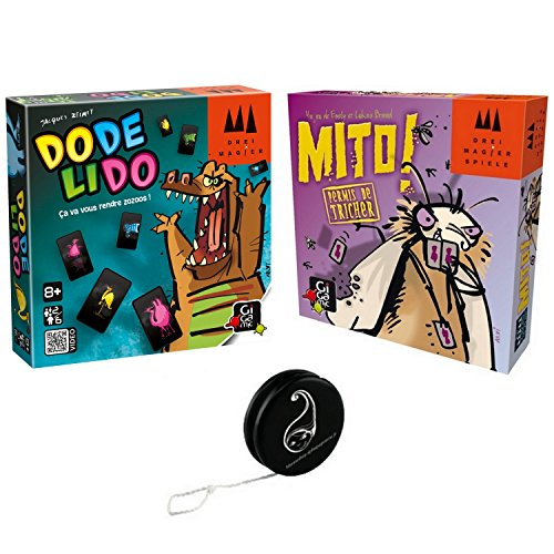 Juego de 2 juegos: Mito + DodeLido + 1 Yoyo Blumie.