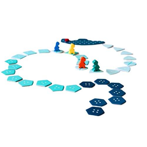 Juego de Aventuras en el mar Profundo, Juego de Mesa de Aventuras en el mar Profundo, Divertidos Juegos de Cartas para Fiestas para niños, celebración Familiar, 2-6 Jugadores, versión en inglés