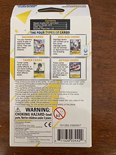 Juego de Cartas Digimon: Baraja de iniciación - Cielo Amarillo ST-3