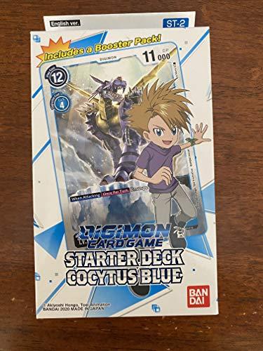 Juego de Cartas Digimon: Baraja de iniciación- Cocytus Azul ST-2