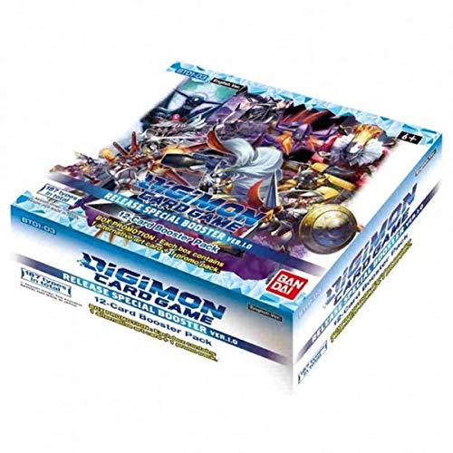 Juego de Cartas Digimon: Versión Especial de la liberación de Booster Versión.1.0 BT01-03