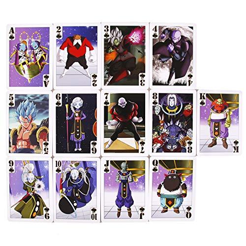Juego de Cartas Dragon Ball Poker World Colection,baraja de Cartas de Poker basadas en el Universo de Dragon Ball,Anime,Juego de Mesa,baraja de Cartas