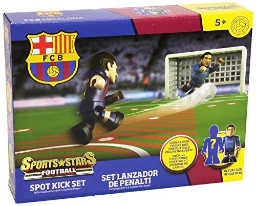 Juego de fútbol Sports Star Barça. Penalty Shootout Set Toy Partner