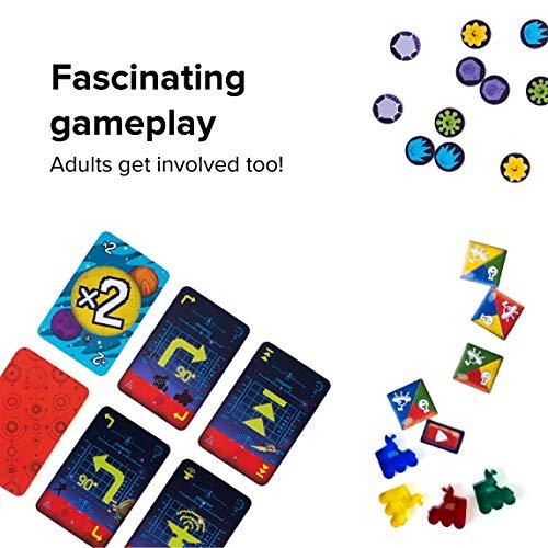 Juego de mesa de estrategia - Programación - Lógica y codificación - Juego de mesa para niños de 6 a 12 años en adelante