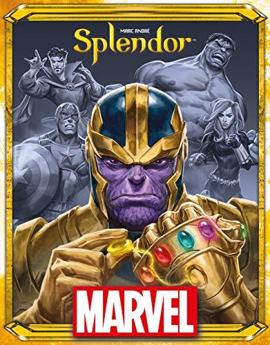 Juego de Mesa Splendor Marvel Asmodee - Juego de Estrategia y Desarrollo