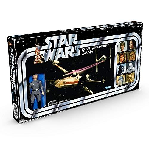 Juego de Mesa Star Wars Escape de la Estrella de la Muerte con Figura Exclusiva de Tarkin a Partir de 8 años