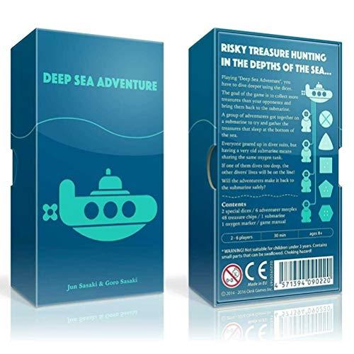 Juegos De Mesa Ingleses Aventura, Juego De Mesa De Aventura, Juegos De Cartas, Juegos De Aventuras En Las Profundidades del Mar, Un Juego De Mesa De Viajes De Búsqueda De Tesoros para 2-6 Personas