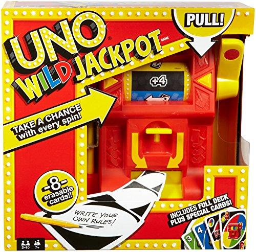 Juegos Mattel- Barbie Wild Jackpot, Color Rojo/Amarillo, (DNG26)