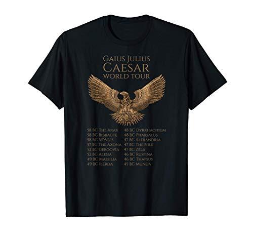 Julio César - Steampunk Águila Romana - SPQR Roma Antigua Camiseta