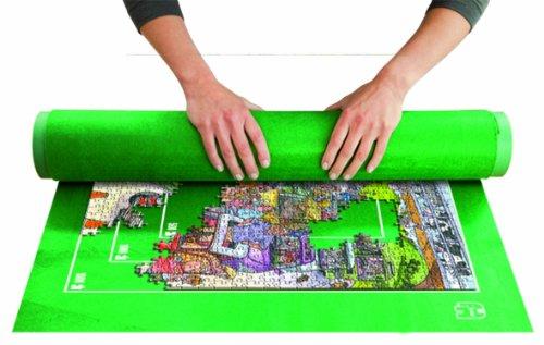 Jumbo - Puzzle y roll up, 1500 piezas, color verde (17690)
