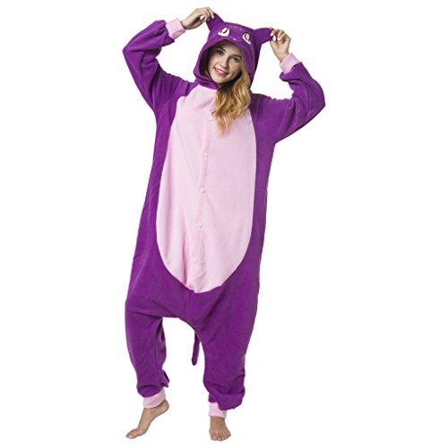 Katara-(10+ Modelos) Kigurumi Pijamas Disfraz de Animal Halloween Carnaval, Adultos, Color gato sailor moon, Talla 145-155cm (1744) , color/modelo surtido