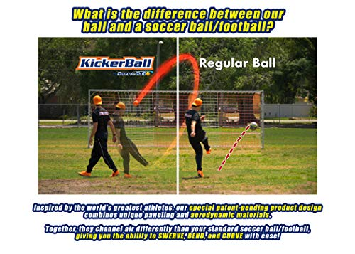 Kickerball - Curve and Swerve Football