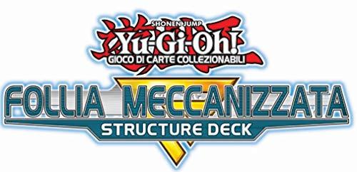 Konami - Yu-Gi-Oh Structure Deck: Follia Mecanizada (8 mazos), Madness, MECHANIZED Mad