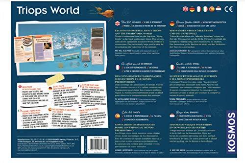 KOSMOS 616748 World-Triops - Juego de experimentos para niños con Instrucciones en Varios Idiomas (DE, EN, FR, IT, ES, NL)