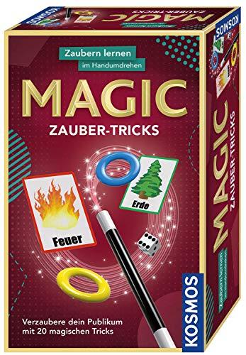 Kosmos 657413, Trucos de magia, con varita mágica y utensilios para 20 trucos mágicos