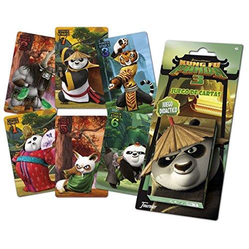 Kung Fu Panda III - Baraja Infantil (Naipes Heraclio Fournier 1034580)