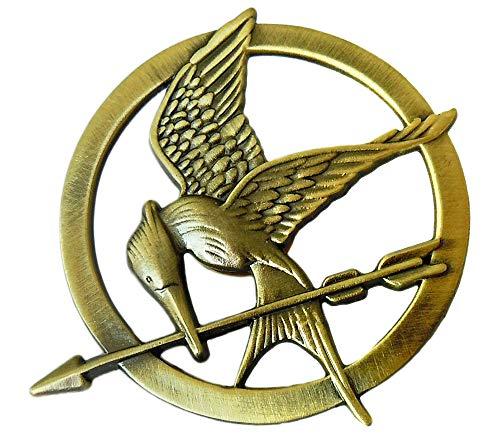 LACKINGONE Broche con diseño de Katniss Everdeen, de Lackingjay, de The Hunger Games