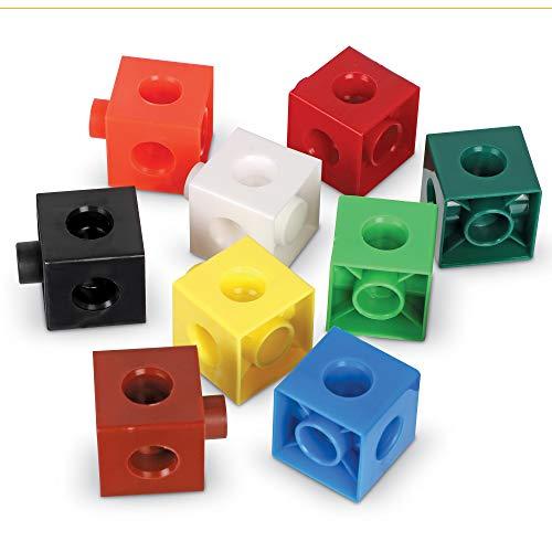 Learning Resources encajables Snap Cubes (Set de 100), Color (LER7584)