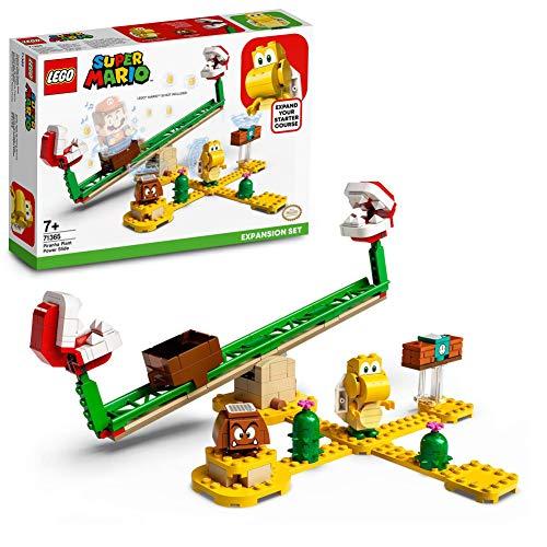 LEGO71365Super Mario Set de Expansión: Superderrape de la Planta Piraña, Juguete de Construcción