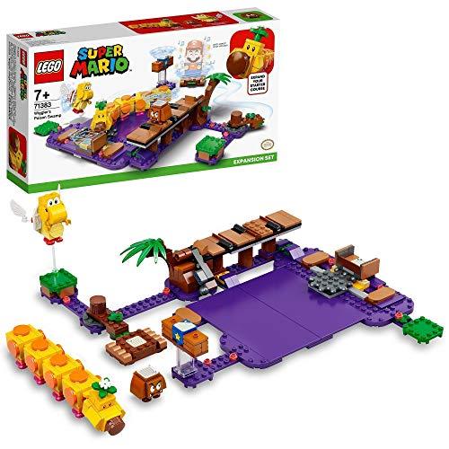 LEGO 71383 Super Mario Set de Expansión: Pantano Venenoso de la Floruga, Kit de Construcción Modular con Figuras de Goomba y Koopa Paratroopa