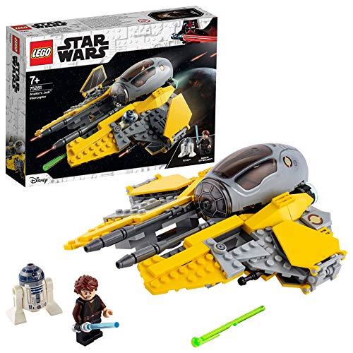 LEGO 75281 Star Wars Juguete Interceptor Jedi™ de Anakin con R2-D2
