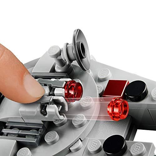 LEGO 75295 Star Wars Microfighter: Halcón Milenario, Juguete con Figura de Han Solo para Niños y Niñas a Partir de 6 Años