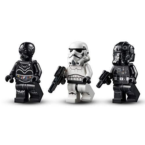 LEGO 75300 Star Wars Caza TIE Imperial, Juguete con Figuras de Stormtrooper y Piloto de la Saga Skywalker