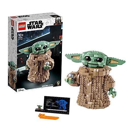 LEGO 75318 Star Wars: The Mandalorian El Niño, Figura de Baby Yoda, Idea de regalo