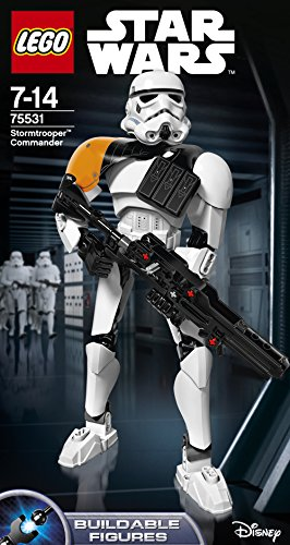 LEGO Constraction Star Wars - Comandante Stormtrooper (75531)