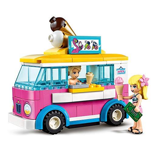 LEGO Friends Heartlake City Friends Parque Acuático FunSet de Juego conMini Muñecas Stephanie,EmmayOlivia,Juguetes Serie SummerHoliday, multicolor (Lego ES 41430)