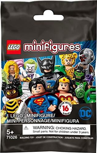 LEGO Minifigures DC - Super Heroes Series, Sobre Sorpresa con 1 Minifigura Coleccionable del Universo de Superhéroes de DC (71026)