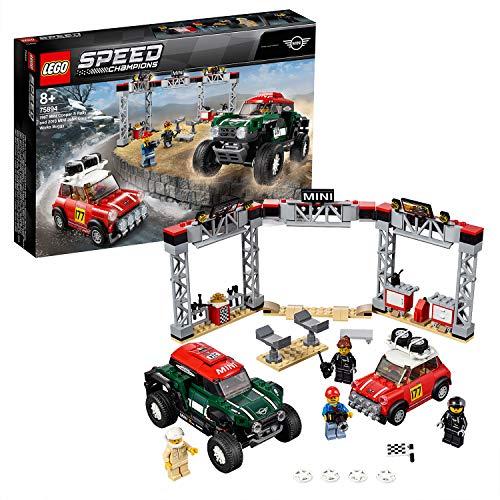 LEGO Speed Champions - Mini Cooper S Rally de 1967 y MINI John Cooper Works Buggy de 2018, juguete de construcción de coches (75894) , color/modelo surtido