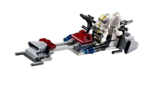 LEGO Star Wars 7655 Clone Troopers Battle Pack - Grupo de Combate de Soldados Clones