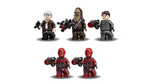LEGO Star Wars - Huida de Rathtar, Juguete de Construcción de la Guerra de las Galaxias, Incluye MiniFigura de Chewbacca (75180)