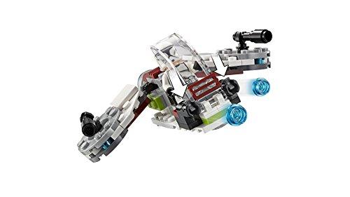 LEGO Star Wars - Pack de combate: Jedi y Soldados Clon, Juguete de Construcción de la Guerra de las Galaxias para Recrear e Imaginar Aventuras, Incluye Minifiguras y Speeder (75206)