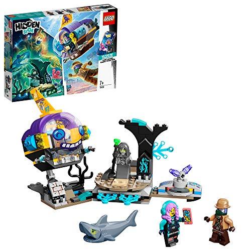 LEGO- SubmarinodeJ.B. Hidden Side Aplicación AR, Set de Juego de Realidad Aumentada Multijugador Interactivo para iPhone/Android, Multicolor (70433)