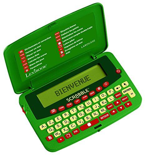 Lexibook SCF-428FR - Diccionario electrónico Oficial del Juego de Scrabble ODS7, Larmousse FISF, árbitro, Corrector de ortografía, 400.000 Palabras, definiciones