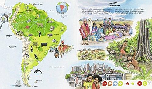 Libro de Ravensburger tiptoi® - My Great World Atlas + pegatinas de esbirros gratis