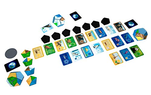 Lúdilo- Planet niños, Educativo, cooperativo, Piezas magneticas, Desarrollo Habilidades cognitivas, Juegos de Mesa, Familia, Color Azul (Blue Orange Games 10701)