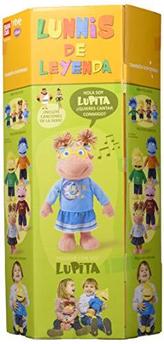 Lunnis de Leyenda Lupita Peluche con Voz, Multicolor (Bandai 80459)