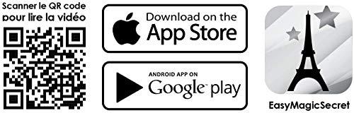 MAGIC SECRET - Caja de Magia para Adultos - Levitación - +20 Trucos de Magia Profesional - a Partir de 9 años - 50 Videos explicativos (iOS & Android App) + 4 Accesorios + Entrenamiento